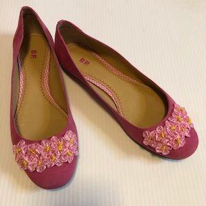 Nordstrom's BP Nelee Pink Ballet Flats, size 8